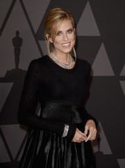 Allison Williams' Neil Lane diamonds were the perfect finishing touch to her black outfit at the Governors Awards.