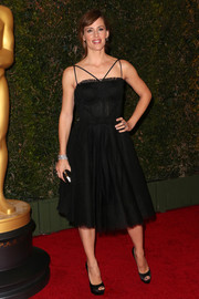 Jennifer Garner looked darling in a Dolce & Gabbana LBD during the Governors Awards.