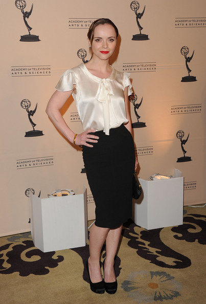 Christina+Ricci in The Academy Of Television Arts & Sciences