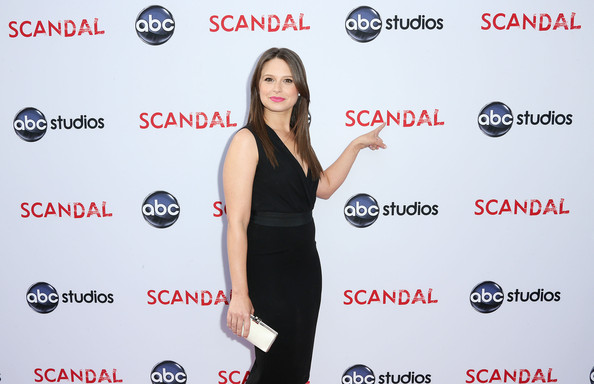 More Pics of Katie Lowes Long Straight Cut (1 of 10) - Long Straight Cut Lookbook - StyleBistro