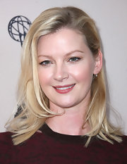 Gretchen Mol kept her hairstyling minimal, wearing her tresses straight and sweeping one side back behind an ear.