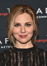 Cara Buono styled her hair into a loose, mildly messy braid for the Adapt Leadership Awards.