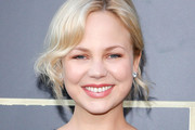 Adelaide Clemens Pink Lipstick