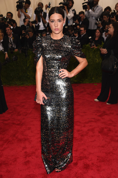 Adele Exarchopoulos Beaded Dress