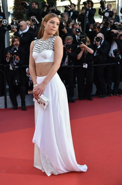 Adele Exarchopoulos Long Skirt