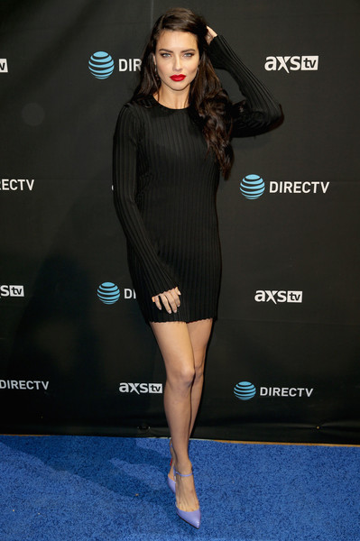 Adriana Lima Sweater Dress