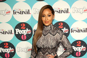 Adrienne Bailon Lace Dress