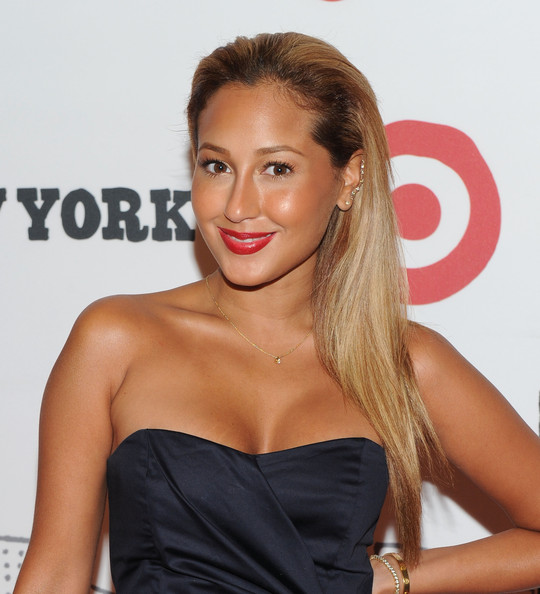 Adrienne Bailon Side Sweep