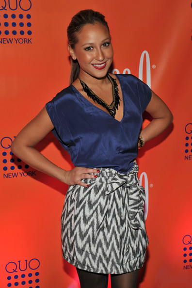 Adrienne Bailon Beaded Statement Necklace