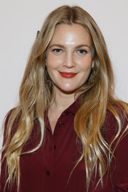 Drew Barrymore sported an ultra-long wavy 'do at the Advertising Week New York 2016.