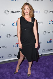 Ruth Wilson opted for a flirty asymmetrical LBD when she attended the PaleyFest screening of 'The Affair.'