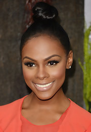 Tika Sumpter made the simplest twisted hair knot look so chic at the premiere of 'After Earth.'