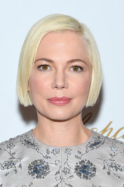 Michelle Williams traded in her signature pixie for this short bob when she attended the New York screening of 'After the Wedding.'