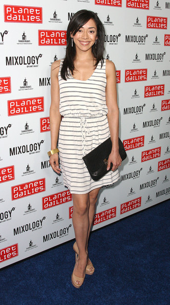 Aimee Garcia Peep Toe Pumps