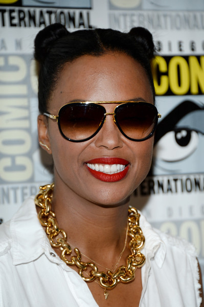 Aisha Tyler Aviator Sunglasses