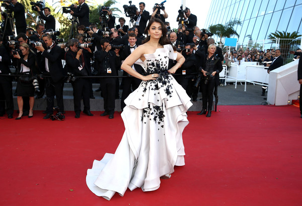 Aishwarya Rai Strapless Dress [youth premiere,flooring,carpet,gown,red carpet,dress,shoulder,fashion,fashion model,haute couture,girl,aishwarya rai bachchan,youth,cannes,france,the 68th annual cannes film festival,premiere]