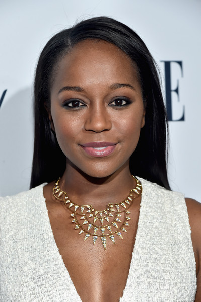 Aja Naomi King Diamond Statement Necklace