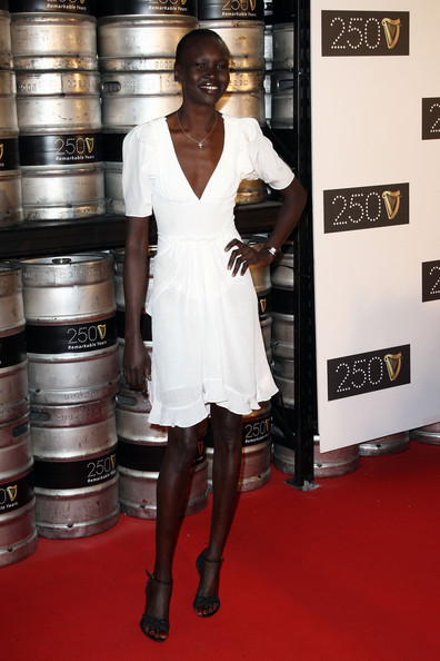 Alek Wek Cross Pendant