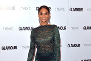 Alesha Dixon Mermaid Gown