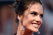 Alessandra Ambrosio Dangling Crystal Earrings