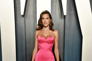 Alessandra Ambrosio Strapless Dress