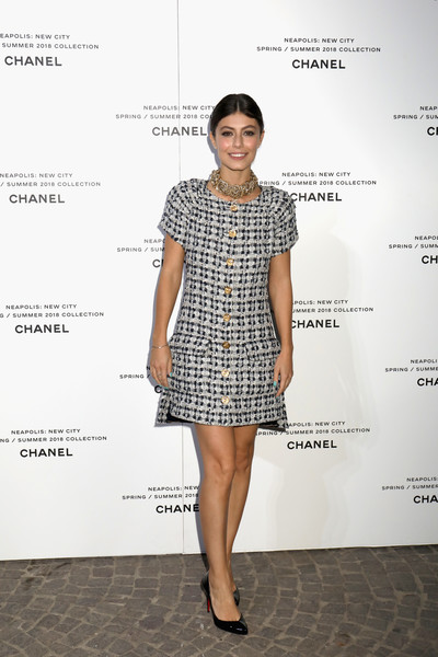 Alessandra Mastronardi Mini Dress