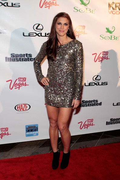 Alex Morgan Beaded Dress
