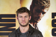 Alex Pettyfer Leather Coat