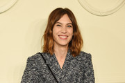 Alexa Chung Suede Shoulder Bag