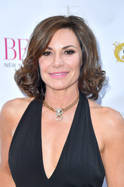 LuAnn de Lesseps kept it classic with this curly lob at the Bella New York beauty cover launch.