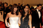 Designer Tamara Mellon and Thandie Newton attend the