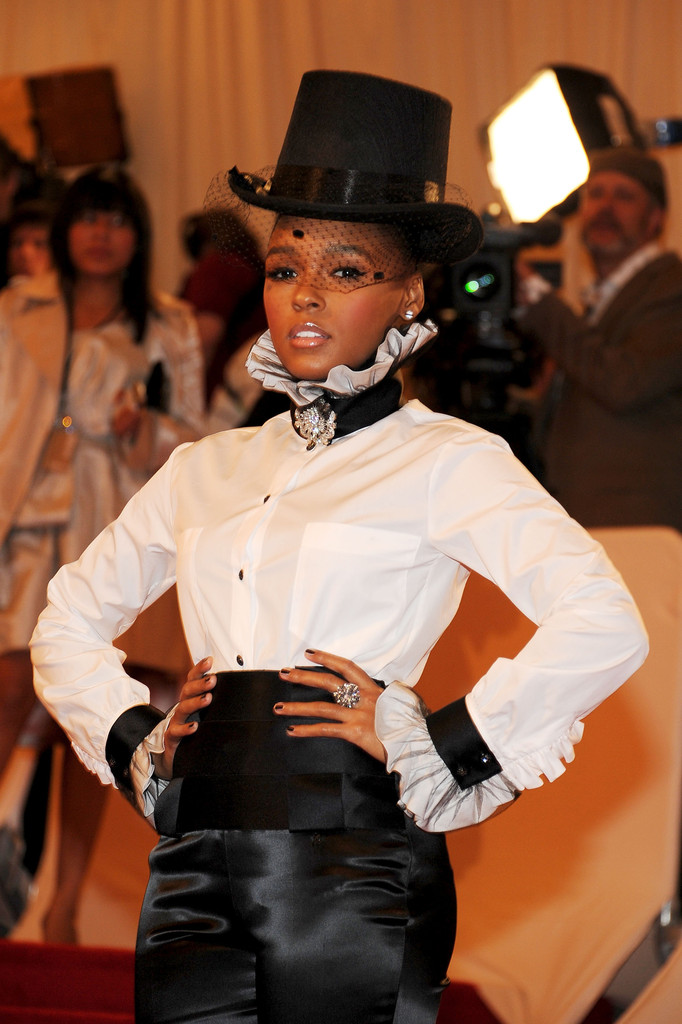 More Pics Of Janelle Monae Top Hat 10 Of 19 Janelle