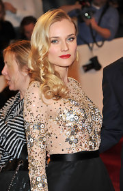 Diane Kruger rocked long cascading curls at the 2011 Met Gala. It was just the right touch her look needed.