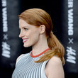 Jessica Chastain's Low 'Do