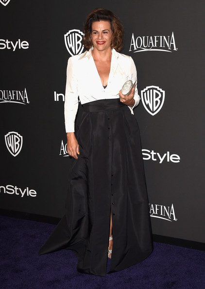 Alexandra Billings Long Skirt [clothing,carpet,red carpet,premiere,dress,fashion,flooring,event,formal wear,suit,alexandra billings,post-party - arrivals,beverly hills,california,the beverly hilton hotel,instyle,warner bros. 72nd annual golden globe awards,warner bros. 72nd annual golden globe awards post-party]