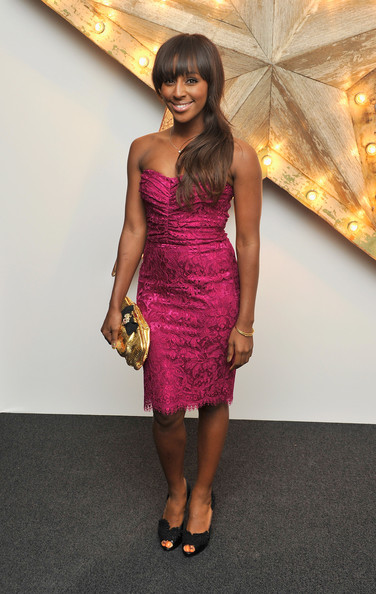 Alexandra Burke Peep Toe Pumps [mr,net-a-porter,alexandra burke,cocktail dress,clothing,dress,fashion model,shoulder,fashion,hairstyle,pink,magenta,joint,england,london,westfield,party,porter host a party for dolce gabbana,dolce and gabbana]
