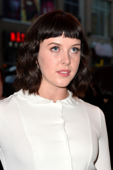 Alexandra Roach Short cut with bangs