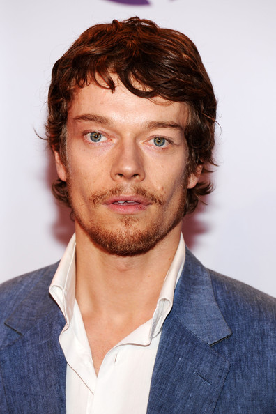 Alfie Allen Long Wavy Cut with Bangs
