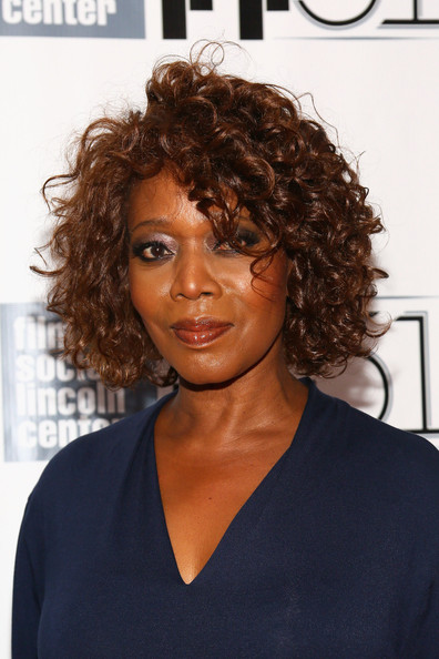 Alfre Woodard Short Curls