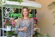 Ali Larter Embroidered Dress