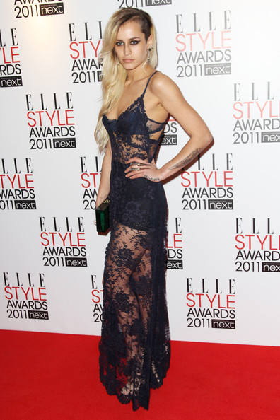 Alice Dellal Evening Dress [fashion model,flooring,carpet,shoulder,fashion,long hair,red carpet,cocktail dress,premiere,arrivals,alice dellal,elle style awards,uk,england,london,the grand connaught rooms,tabloid newspapers]