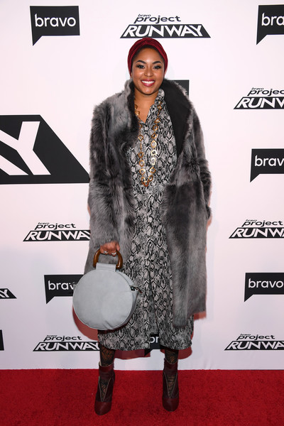 Alicia Quarles Fur Coat []