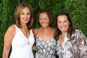 Alina Cho And Samantha Yanks Host a Lunch For Marie France van Damme