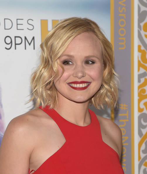 Alison Pill Short Wavy Cut