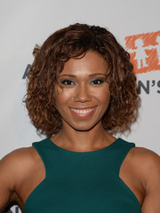Toks Olagundoye attended the Alliance for Children's Rights dinner wearing a cute curled-out bob.