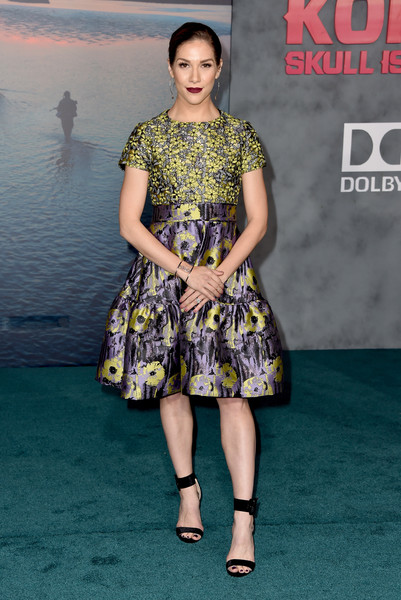 Allison Holker Print Dress