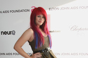 Allison Iraheta Long Straight Cut with Bangs