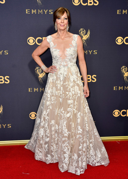 Allison Janney Embroidered Dress