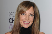 Allison Janney Long Side Part