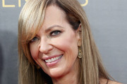 Allison Janney Long Straight Cut with Bangs